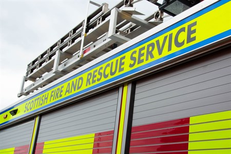 SFRS name line on appliance